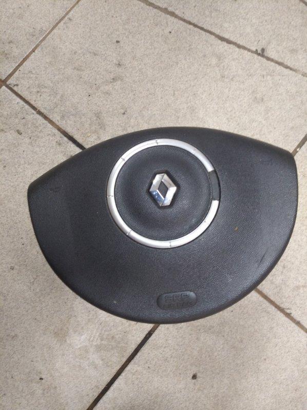 Подушка безопасности в руль Renault Scenic 2 K9K732 2007 передняя (б/у)