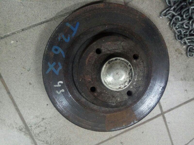 Тормозной диск Renault Scenic 2 К9К 2007 задний (б/у)