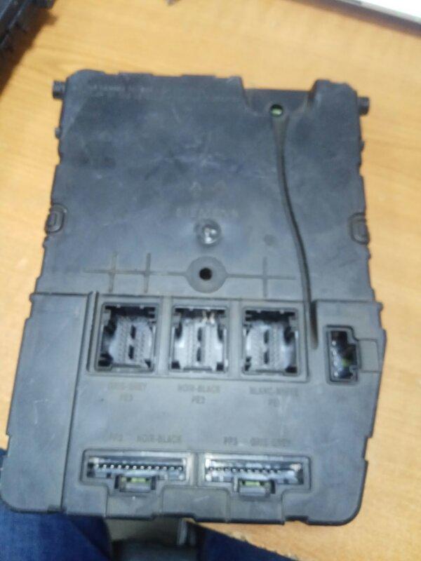 Блок камфорта Renault Megane 2 К4М813 2007 (б/у)