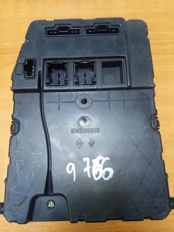 Блок камфорта Renault Megane 2 К9К 2007 (б/у)