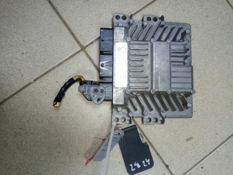 Блок управления двигателем Renault Scenic 2 K9K732 2007 (б/у)