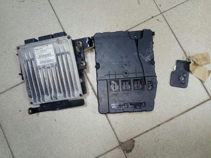 Блок управления двигателем Renault Scenic 2 K9K724 2007 (б/у)