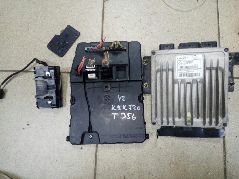 Блок управления двигателем Renault Scenic 2 K9K720 2007 (б/у)