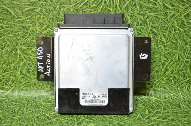 Блок управления двигателя (эбу) Ssangyong Actyon Sports QJ D20DT 2011 (б/у)