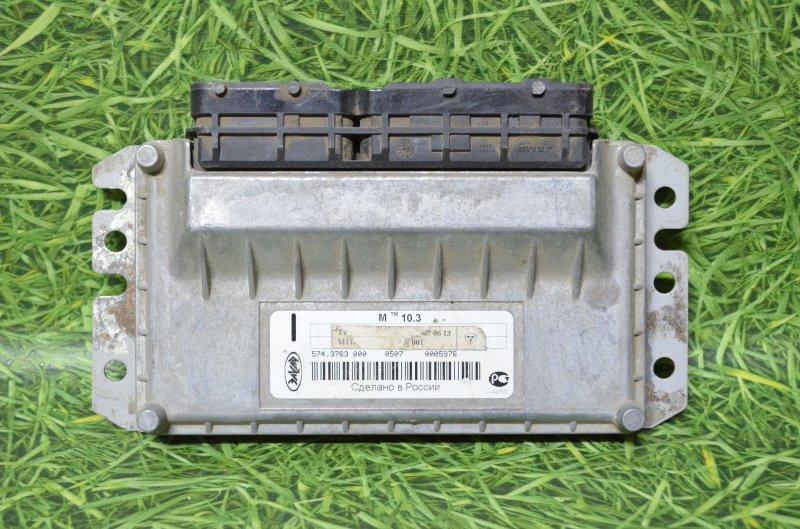 Блок управления двигателя (эбу) Заз Chance T100 МЕМЗ-307 2009 (б/у)