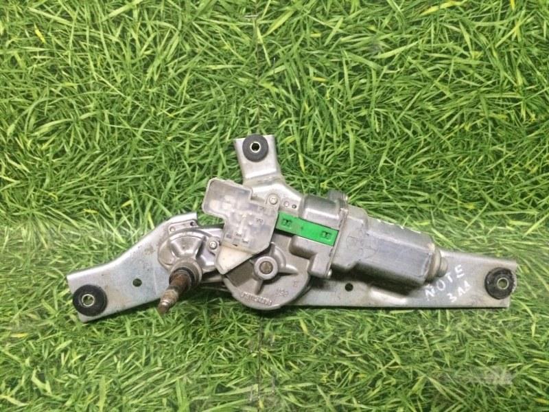 Моторчик стеклоочистителя Nissan Note E11 HR16DE 2007 (б/у)