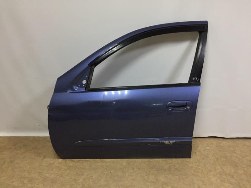 Дверь Nissan Almera Cllasic B10 QJ16DE 2006 передняя левая (б/у)