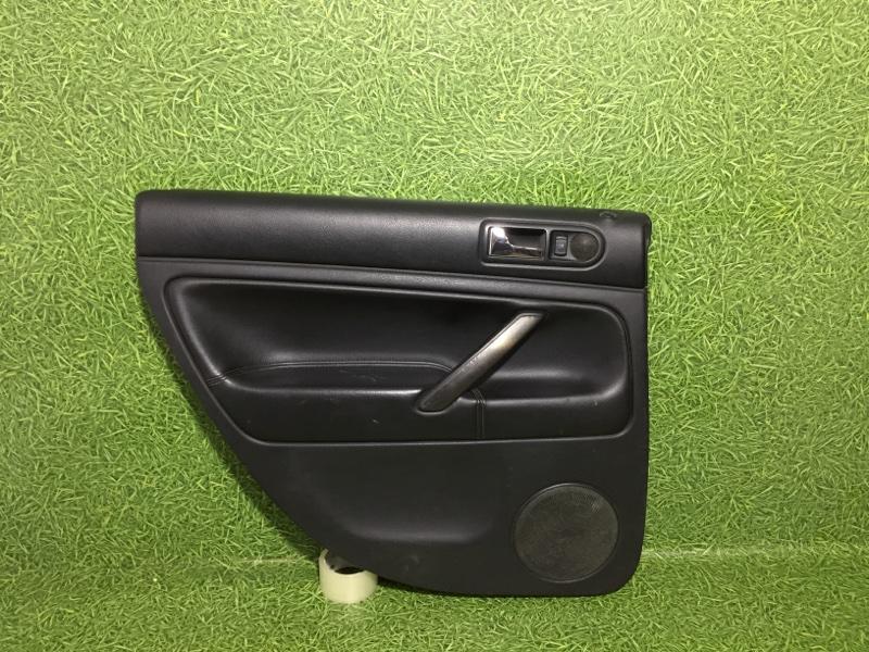 Обшивка двери Volkswagen Passat 3B3 AWT 2002 задняя левая (б/у)