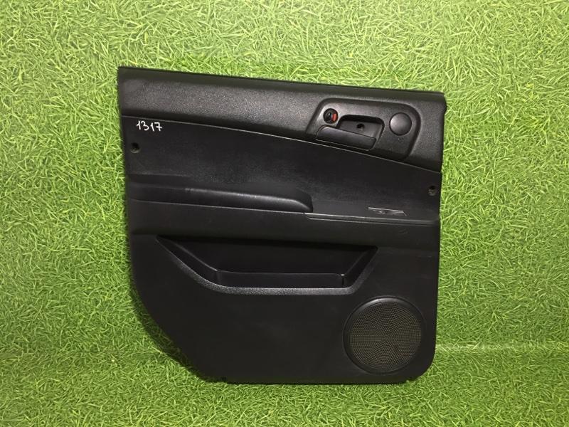 Обшивка двери Ssangyong Actyon Sports QJ D20DT 2011 задняя левая (б/у)