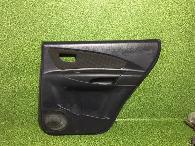 Обшивка двери Hyundai Tucson JM D4EA 2006 задняя правая (б/у)