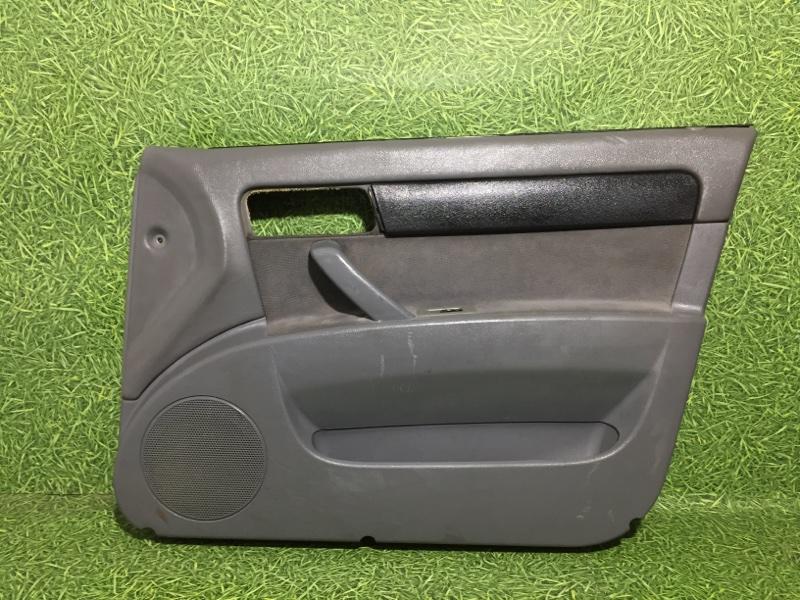 Обшивка двери Chevrolet Lacetti СЕДАН F14D3 2007 передняя правая (б/у)