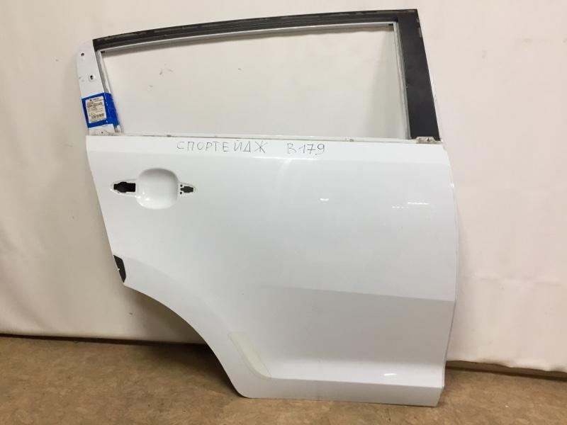 Дверь Kia Sportage задняя правая (б/у)
