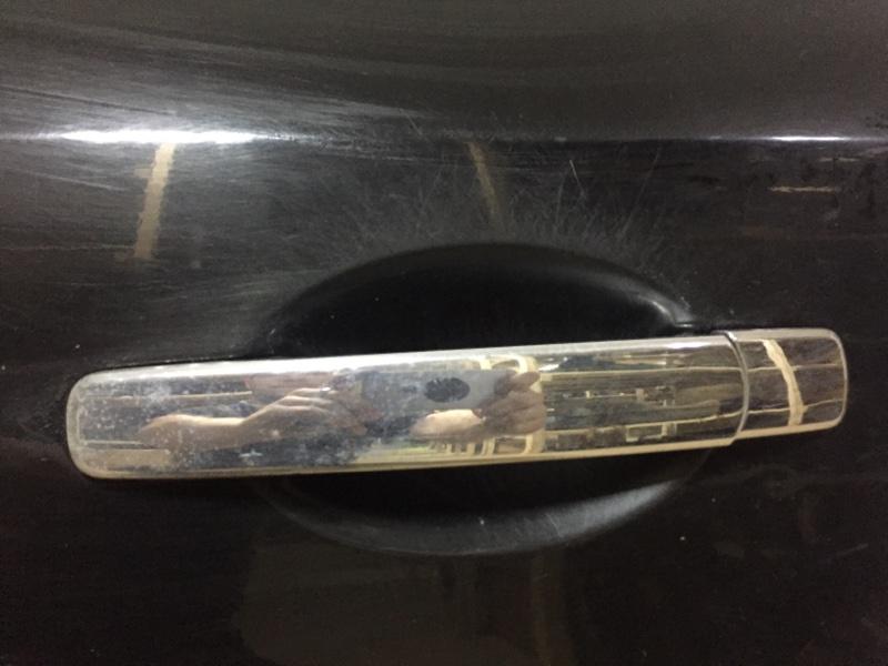 Ручка двери внешняя Nissan Murano Z50 VQ35DE 2007 задняя левая (б/у)