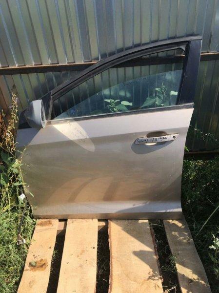 Дверь Chery Bonus A13 SQR 477F 2011 передняя левая (б/у)