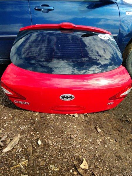 Дверь багажника Chery M11 SQR481F 2012 задняя (б/у)