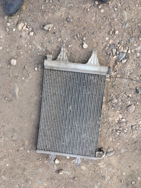 Радиатор кондиционера Skoda Fabia 5J2 BBM 2008 (б/у)