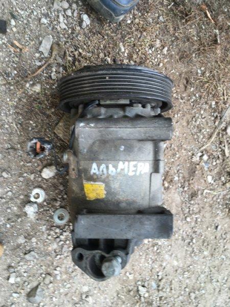 Компрессор кондиционера Nissan Almera N16 QG15DE 2004 (б/у)