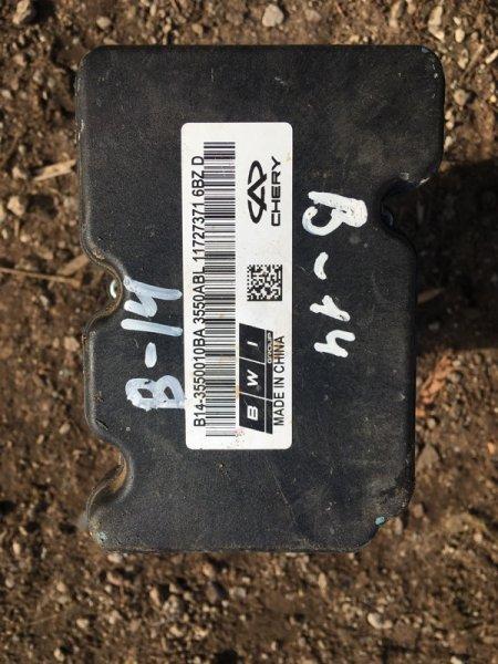 Блок abs Chery Crosseastar B14 SQR484F 2012 (б/у)