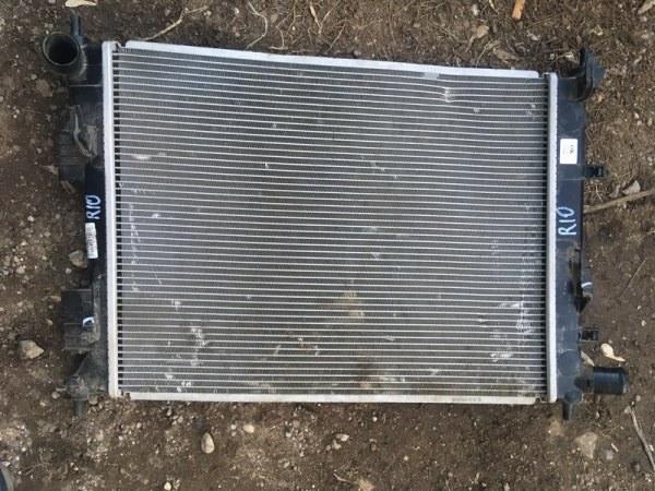 Радиатор двс Kia Rio 3 QB G4FC 2016 (б/у)