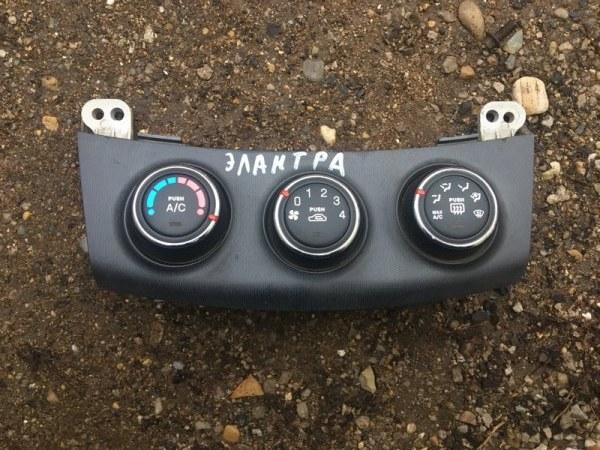 Блок управления отопителем Hyundai Elantra HD G4FC 2009 (б/у)
