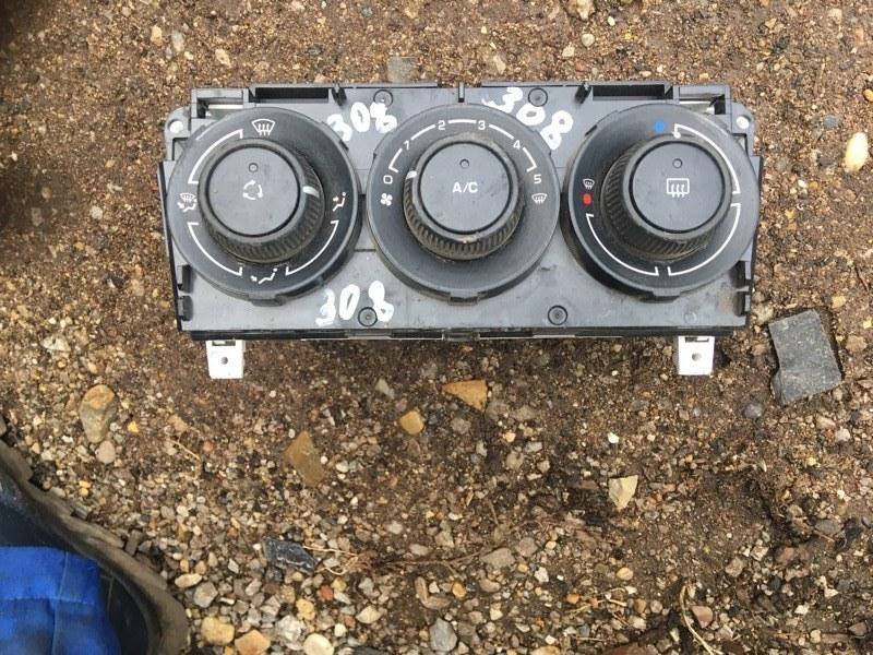 Блок управления отопителем Peugeot 308 4A EP6 2010 (б/у)