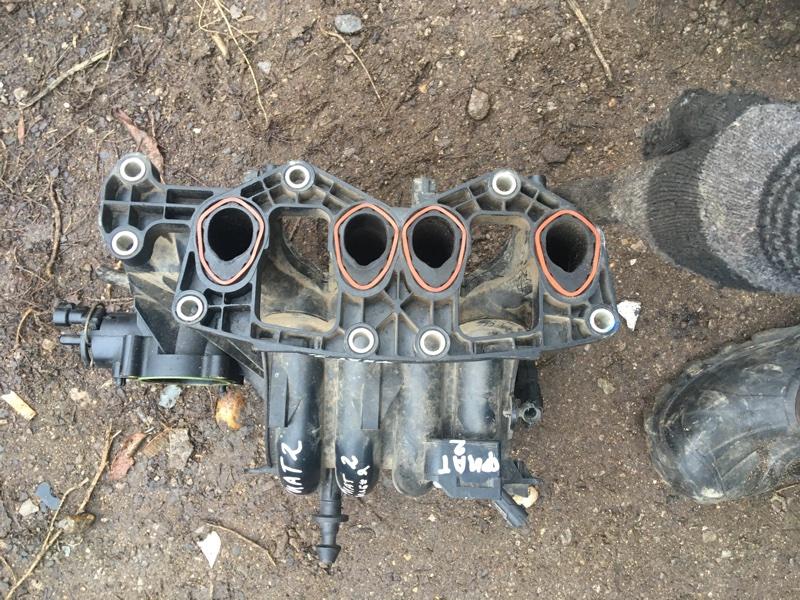 Коллектор впускной Fiat Albea 2010 (б/у)