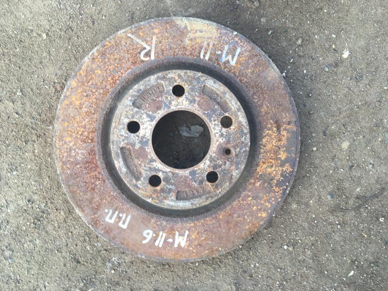 Тормозной диск Chery M11 1.6 SQRE4G16 2013 (б/у)