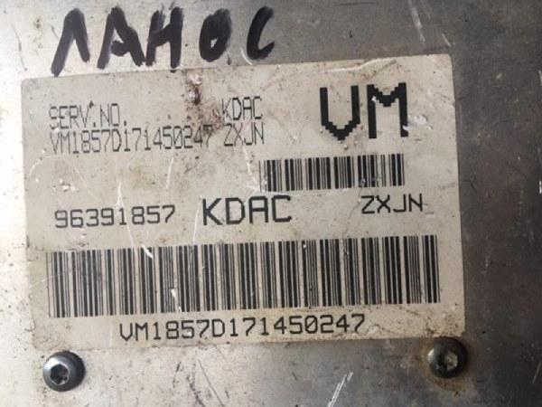 Блок управления двигателем Chevrolet Lanos T100 A15SMS 2009 (б/у)