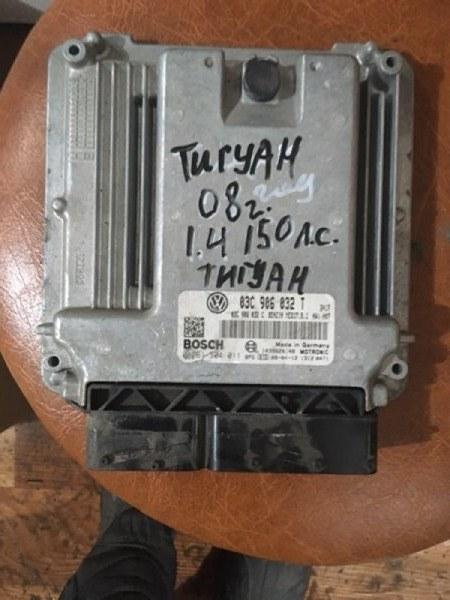 Блок управления двигателем Volkswagen Tiguan 5N1 BWK 2009 (б/у)