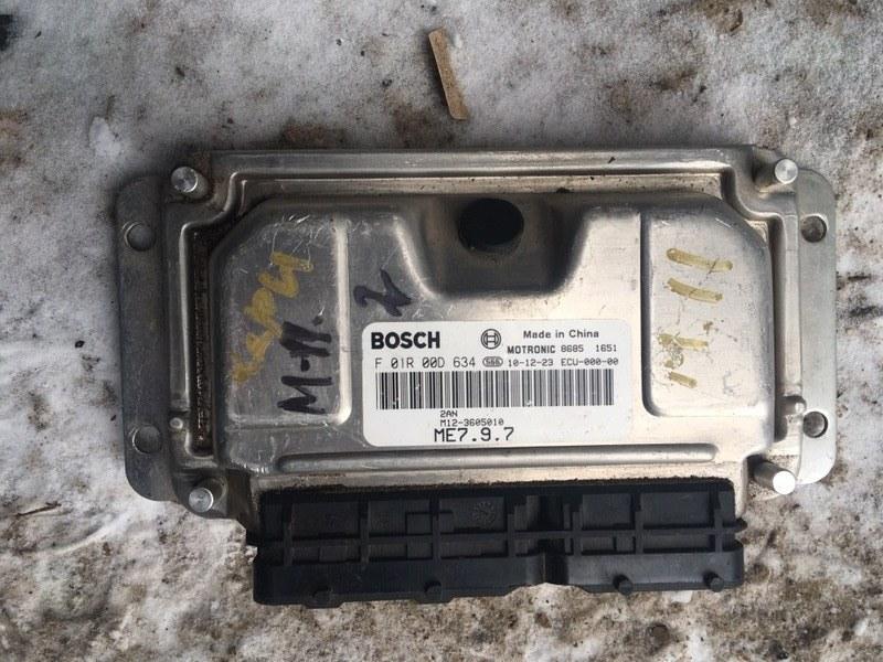 Блок управления двигателем Chery M11 SQR481F 2012 (б/у)