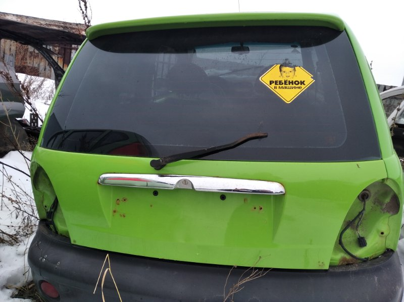 Дверь багажника Chery Qq S11 SQR372 2008 (б/у)