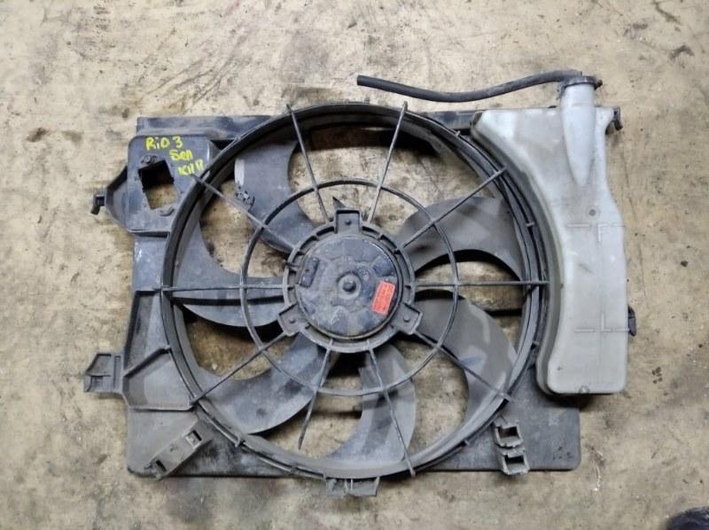 Диффузор вентилятора Kia Rio 3 QB G4FA 2013 (б/у)