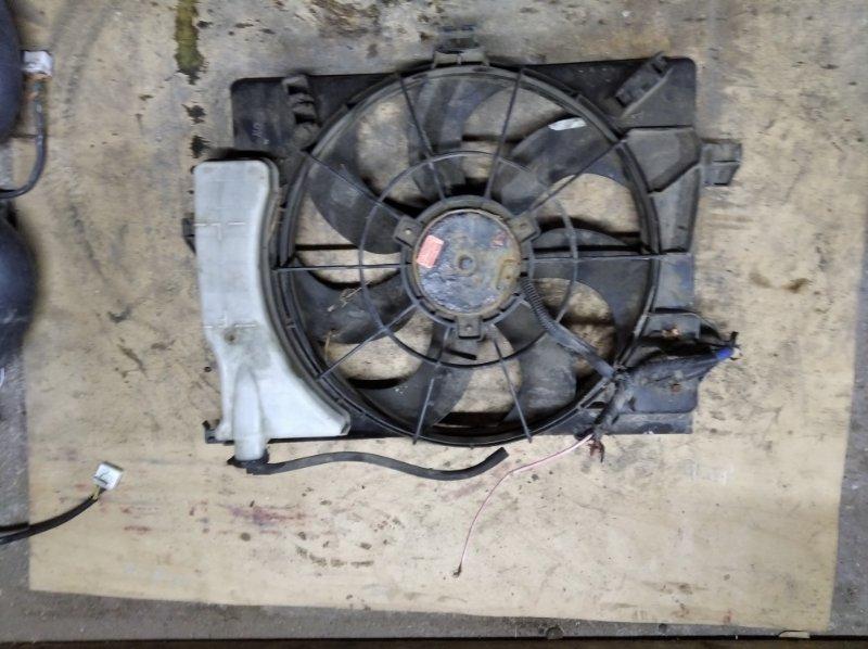 Диффузор вентилятора Kia Rio 3 QB G4FC 2013 (б/у)