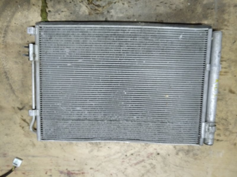 Радиатор кондиционера Kia Rio 3 QB G4FA 2013 (б/у)