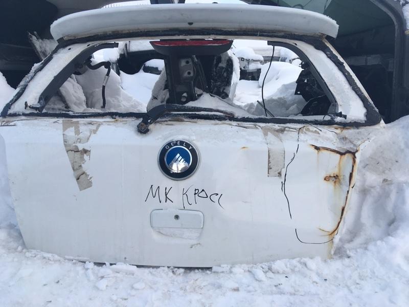 Дверь багажника Geely Mk Cross MR479QA 2013 (б/у)