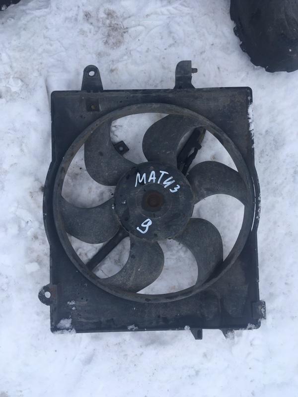 Диффузор вентилятора Daewoo Matiz KLYA F8CV 2009 (б/у)