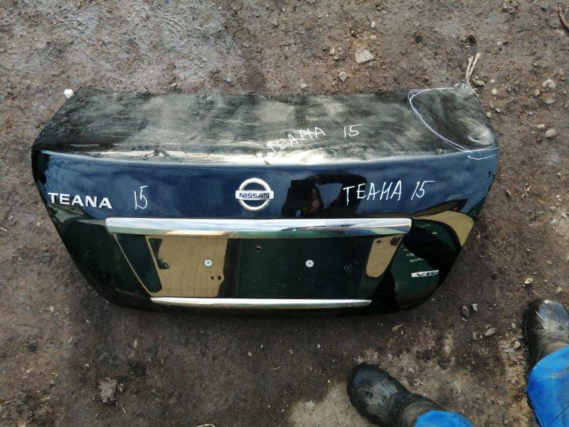 Крышка багажника Nissan Teana J32 VQ25DE 2012 (б/у)
