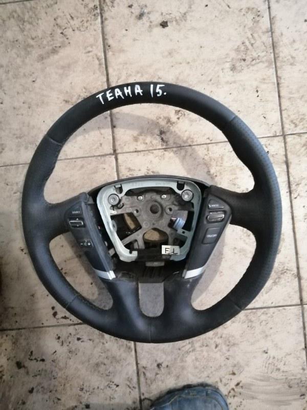 Руль Nissan Teana J32 VQ25DE 2012 (б/у)