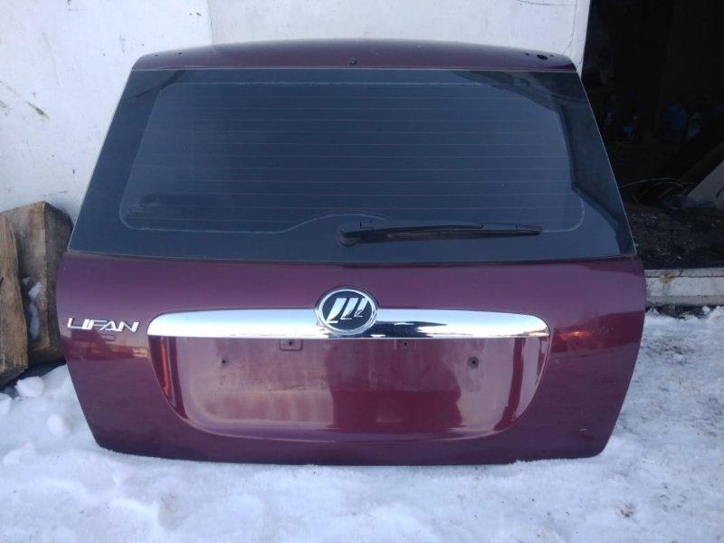Дверь багажника Lifan Smily 320 LF479Q3-B 2012 (б/у)