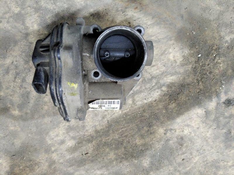 Блок дроссельной заслонки Ford Fiesta CBK FXJA 2007 (б/у)