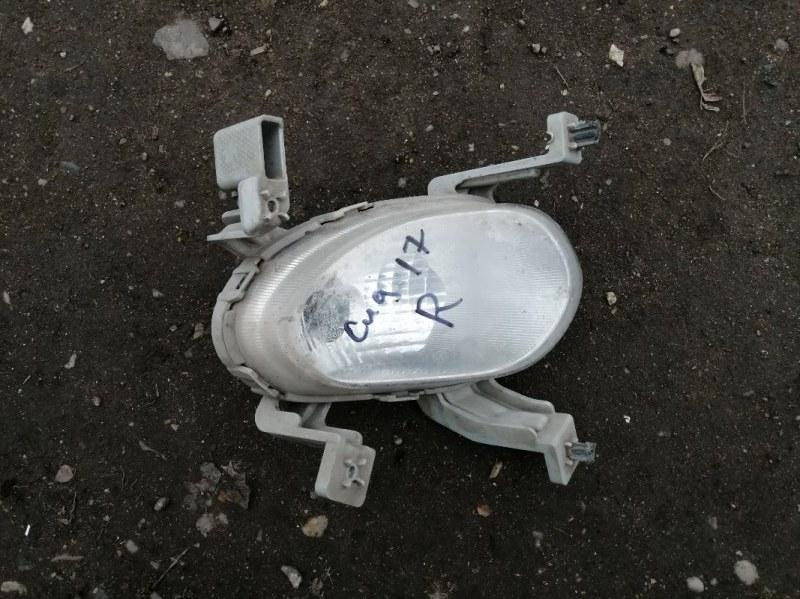 Фара противотуманная Kia Ceed 2 JD G4FG 2014 передняя правая (б/у)