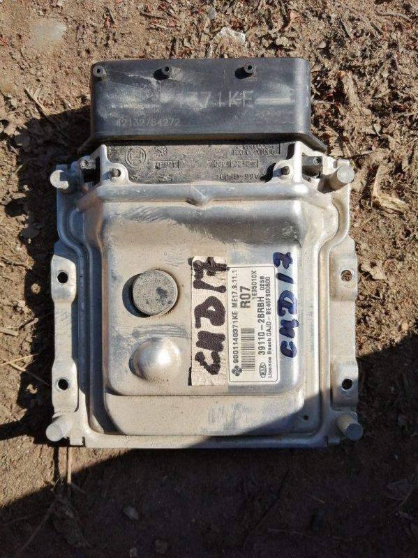 Блок управления двигателем Kia Ceed 2 JD G4FG 2014 (б/у)