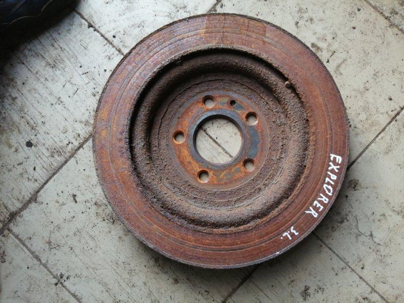Тормозной диск Ford Explorer 5 U502 DURATEC TI-VCT 2013 задний (б/у)