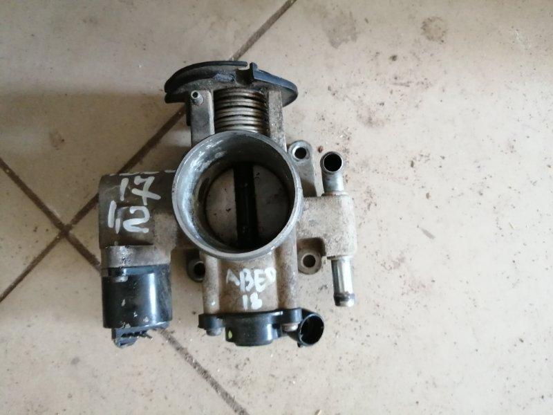 Блок дроссельной заслонки Chevrolet Aveo T250 B12D1 2009 (б/у)