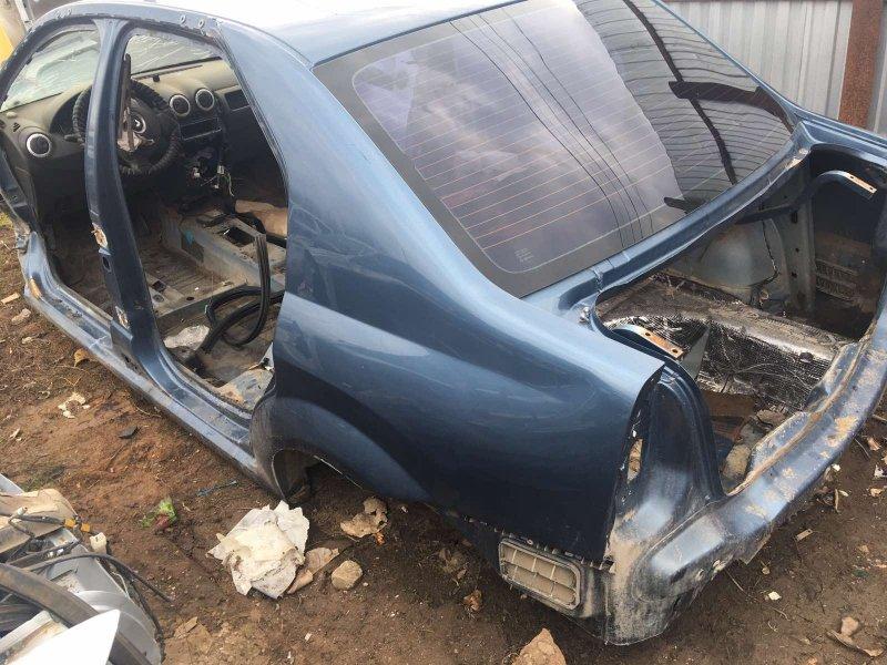 Задняя часть кузова Renault Logan LS0G K7MF710 2013 задняя (б/у)