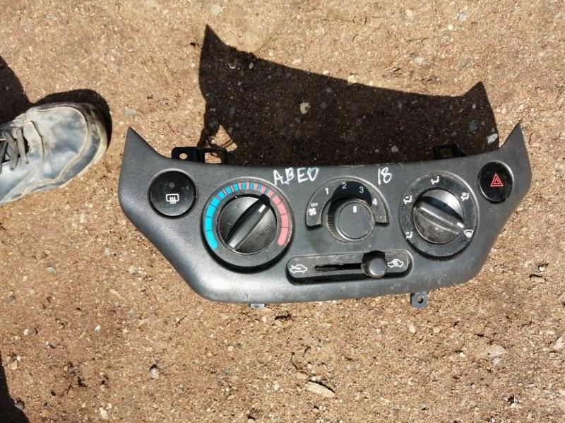Блок управления отопителем Chevrolet Aveo T250 B12D1 2009 (б/у)
