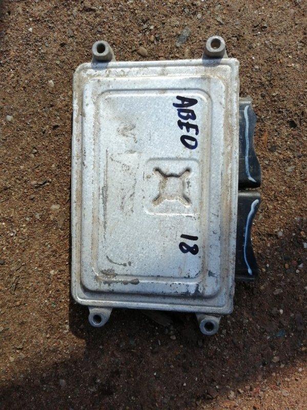 Блок управления двигателем Chevrolet Aveo T250 B12D1 2009 (б/у)
