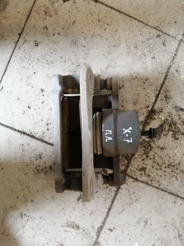 Суппорт Geely Emgrand X7 X7 JLD-4G20 2014 передний левый (б/у)