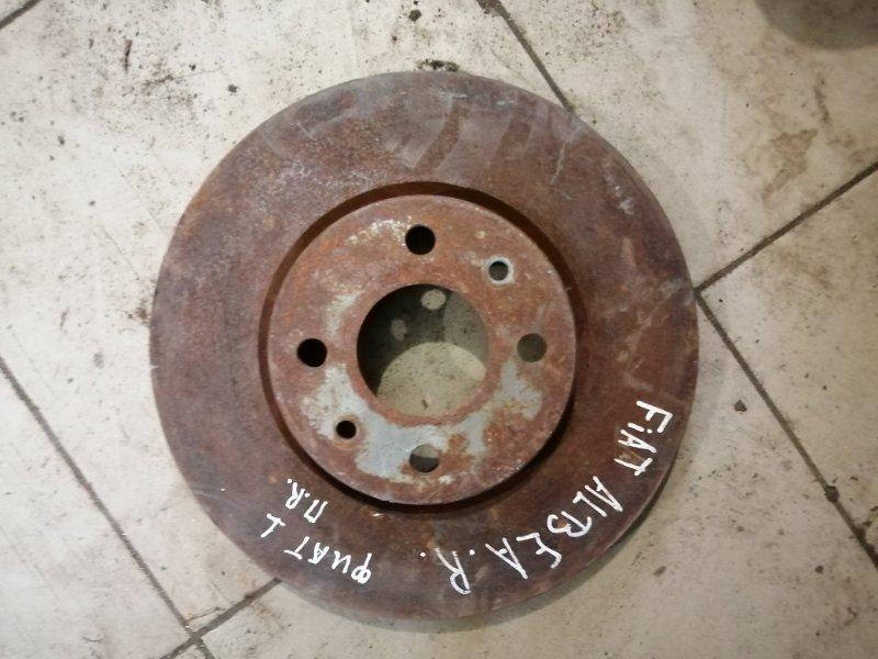 Тормозной диск Fiat Albea 2010 передний (б/у)