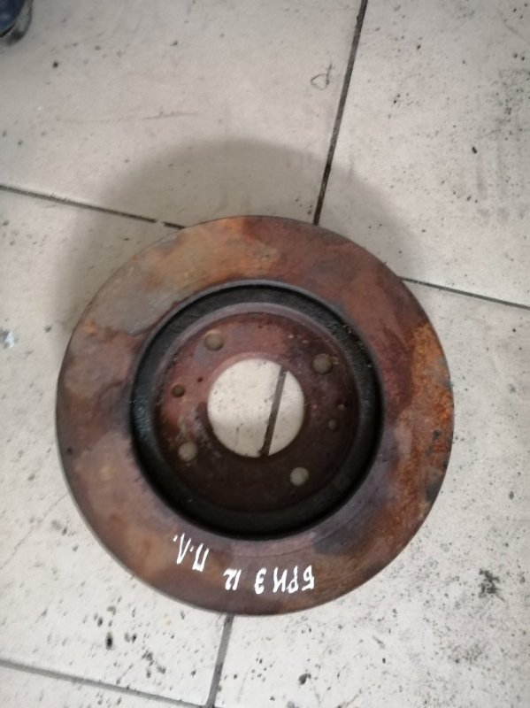 Тормозной диск Lifan Breez 520 LF481Q3 2010 передний (б/у)